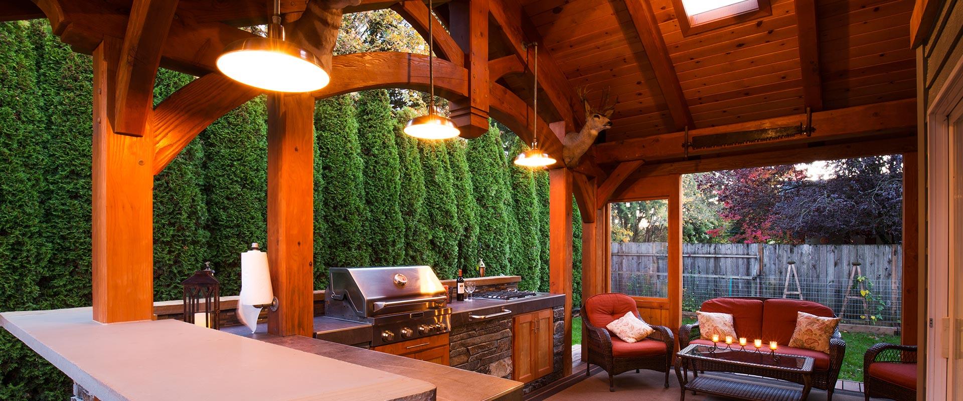 Timber Frame Pavilions Trusses Amp Homes Portland