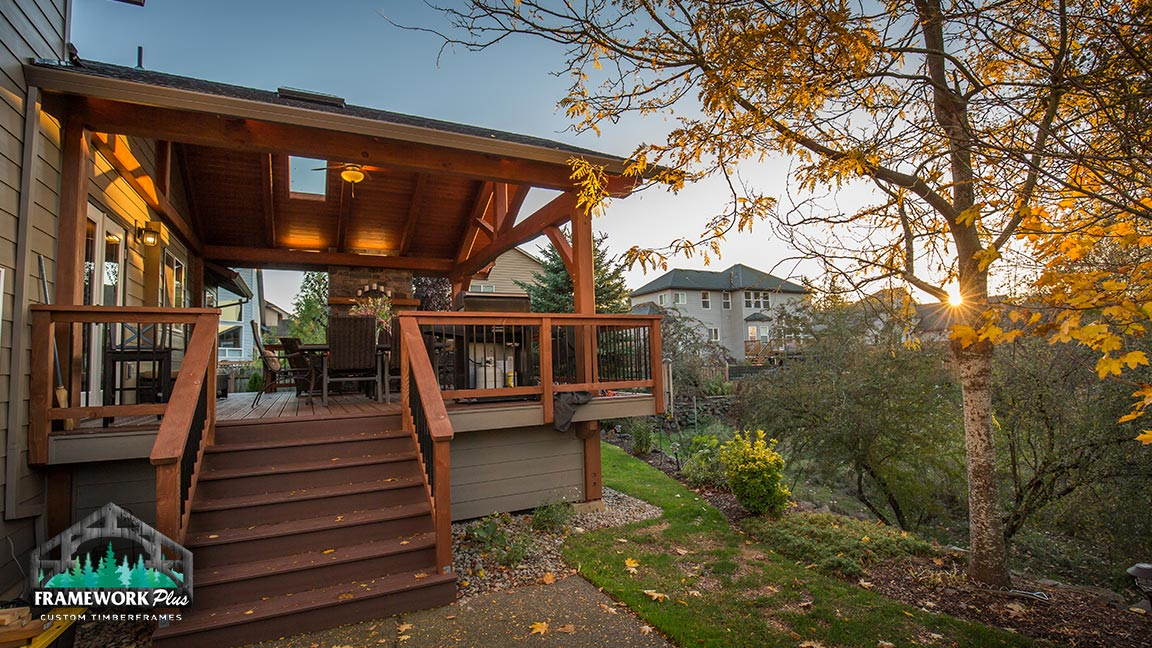 Custom deck designs from Framework Plus in Portland, OR