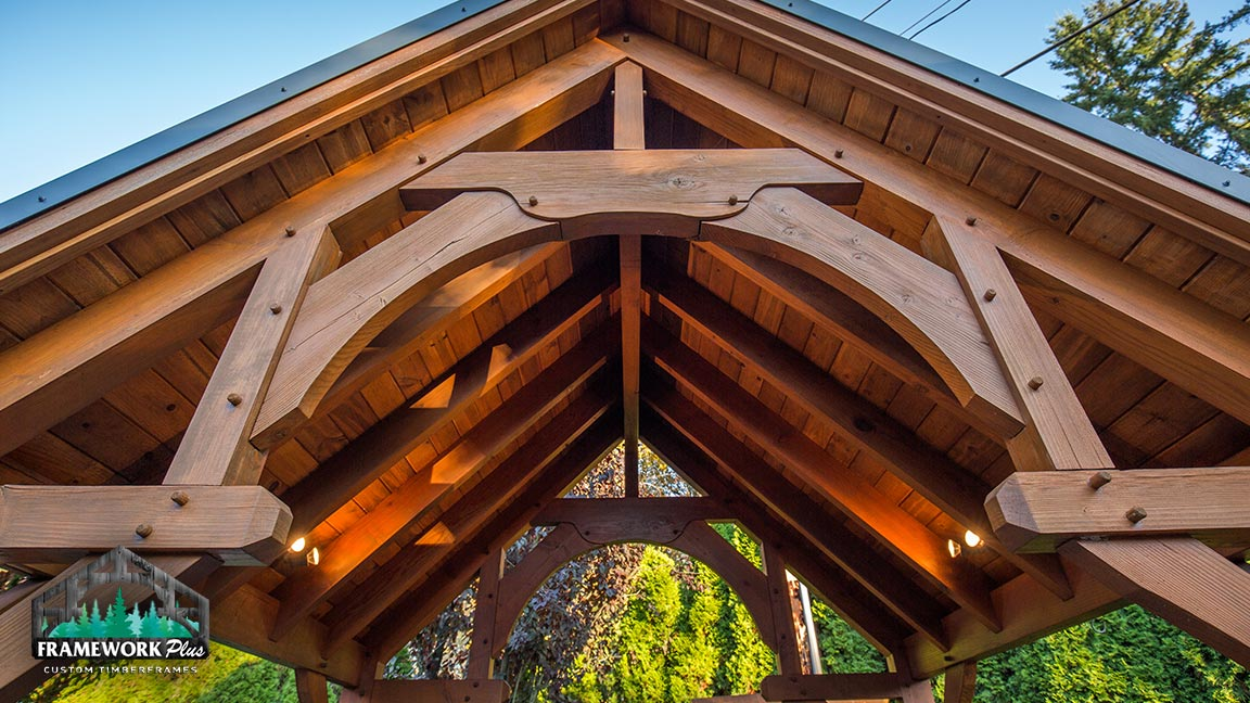 Custom gazebo in Portland, OR built by Framework Plus