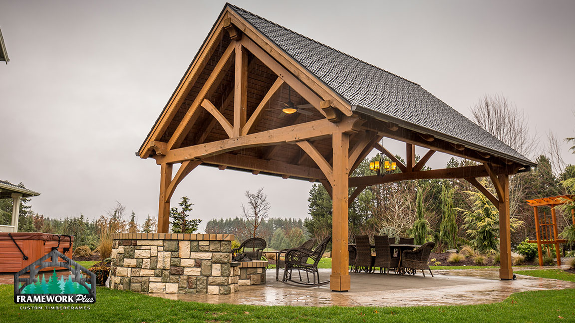 Timber Frame Home Amp Pavilion Photo Gallery Framework Plus