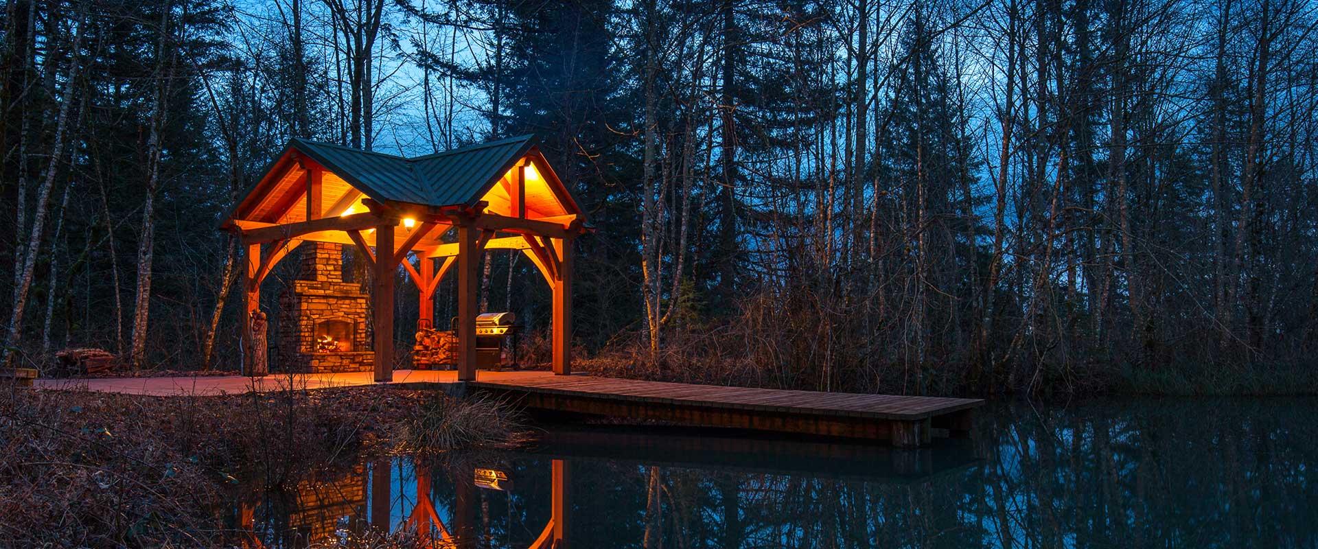 Timber Frame Pavilion & Pergola Kits | Portland, Estacada