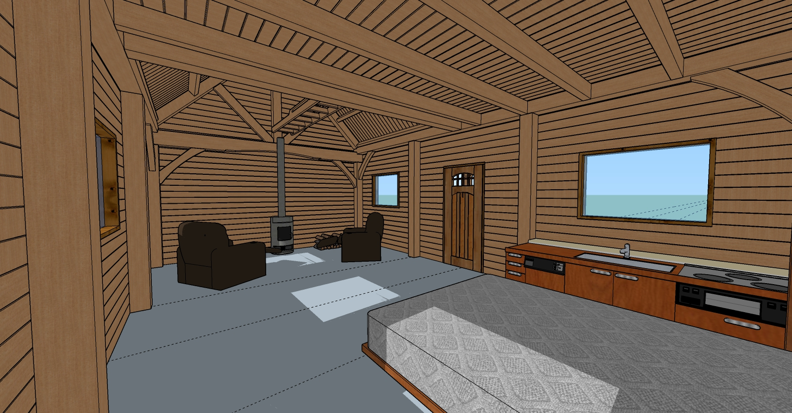 The Blacktail Cabin - Framework Plus